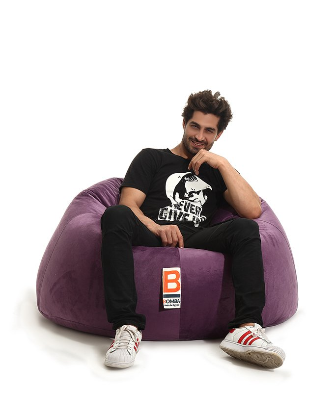 Awesome Bomba Regular Bean Bags Fabric Xl Caraccident5 Cool Chair Designs And Ideas Caraccident5Info