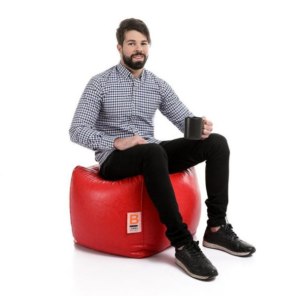 Box Bean Bags Leather